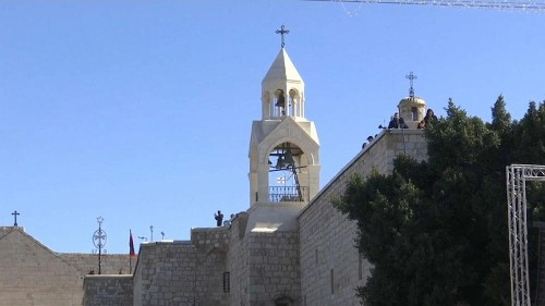 Orthodoxes Weihnachtsfest in Bethlehem
