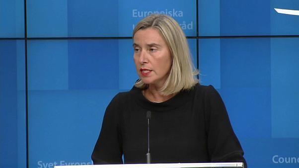 Mogherini will Atomabkommen mit dem Iran noch retten