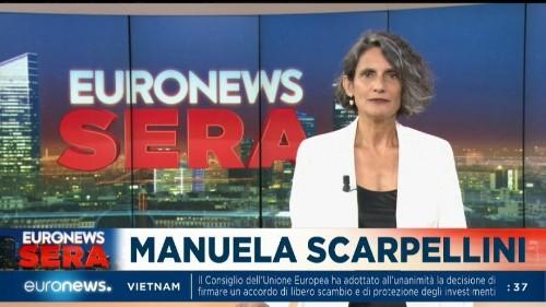Euronews Sera   TG europeo, edizione di martedì 25 giugno 2019