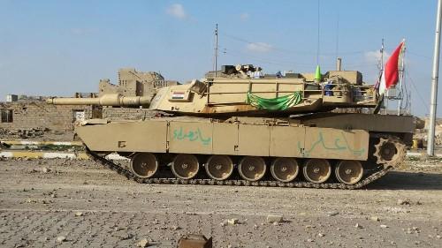 Le face-à-face entre l'armée irakienne et le dernier bataillon de l'Etat islamique à Ramadi
