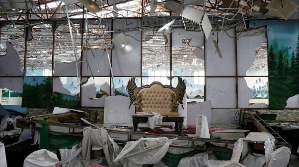 Bomb blast at Kabul wedding kills 63 people and injures 182 others