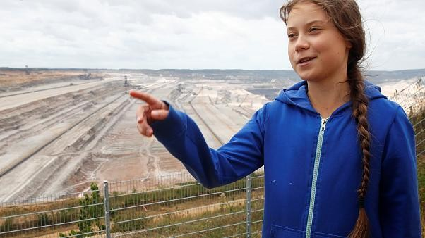 Greta Thunberg, on German coal mine visit, questions 2038 fuel exit date