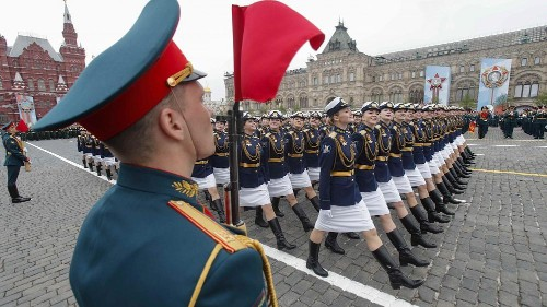 Russia shows off military might at Victory Day parade