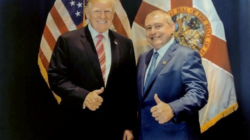 Trump lawyer dismisses photos of the president with Lev Parnas, other evidence