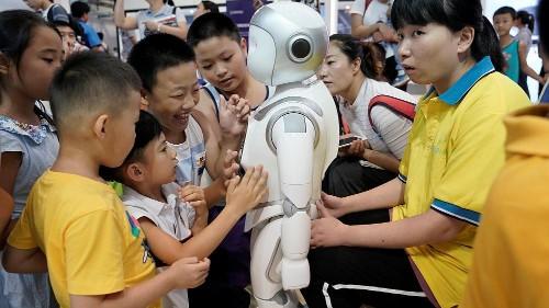 Çin yeni öğretmen robotu Keeko ile dersleri eğlenceli hale getiriyor