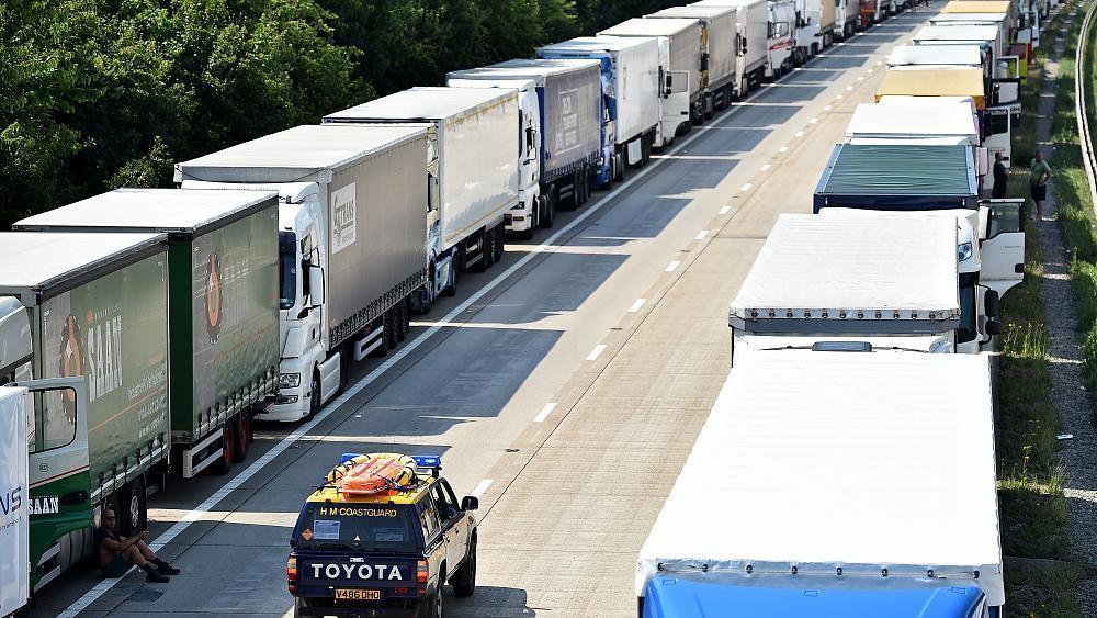 Brexit : 7 000 camions bloqués au Royaume-Uni en cas de no-deal ?