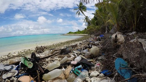 Nearly 1 million shoes and 373,000 toothbrushes found on remote Cocos Islands