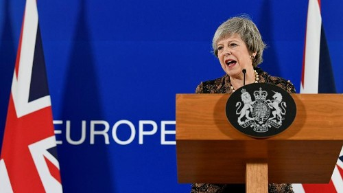 May defies calls for second referendum & waits on Europe