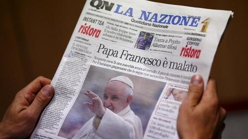 Le Vatican dément que le pape François ait une tumeur au cerveau