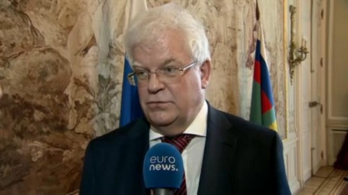 Russian ambassador Vladimir Chizhov shared his thoughts with Euronews on the INF treaty suspension, US deployment of troops to Poland and the announcement of MH17 suspects. Read more about what he has to say.