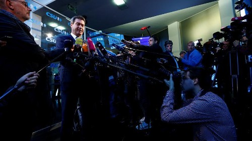 Merkel allies suffer huge losses in Bavaria as Greens and AfD make gains