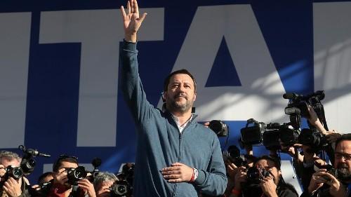 "Lega-Kundgebung in Rom: ""Wer Armut sät, erntet Proteste"""