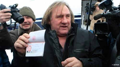 Depardieu le Russe, star d'une série télé