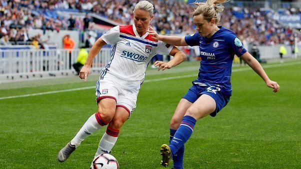 Lyon play Barcelona in the UEFA Women's Champions League Final