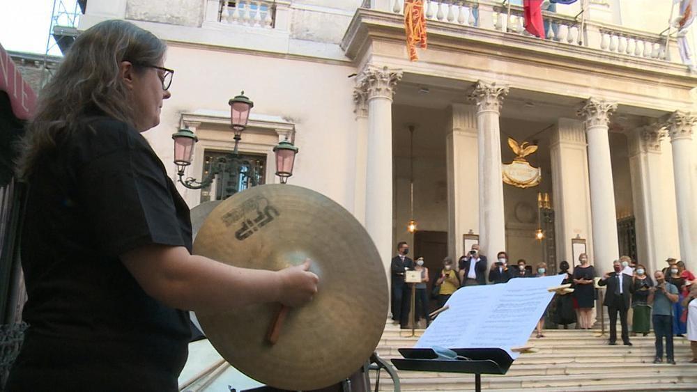 Venice's La Fenice opera house reinvents itself for post-lockdown era