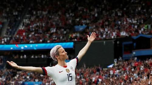 Who is Megan Rapinoe, the US women's football star who'll snub Trump's White House? #FRAUSA #FIFAWWC