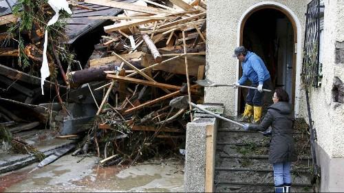 Intempéries : 9 morts en Allemagne et des milliers de personnes évacuées en France