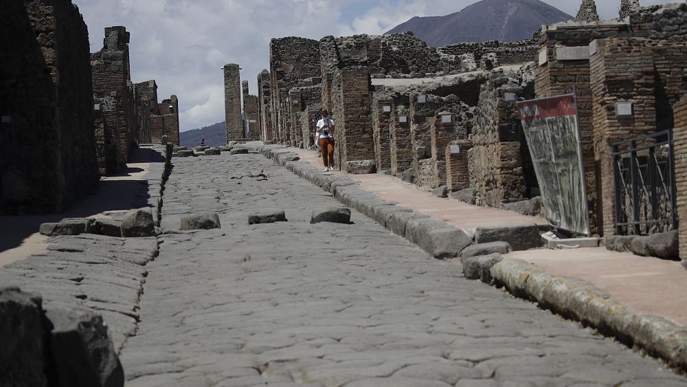Os primeiros dias de Pompeia