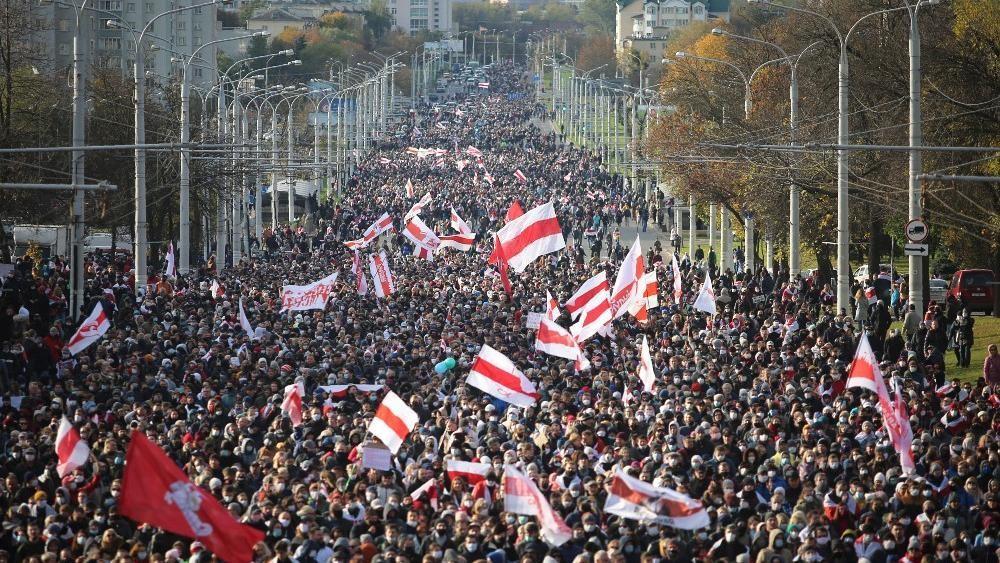 Anti-government rallies held across Belarus despite regime threats