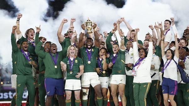 جنوب أفريقيا تهزم إنكلترا وتفوز بكأس العالم للروغبي للمرة الثالثة