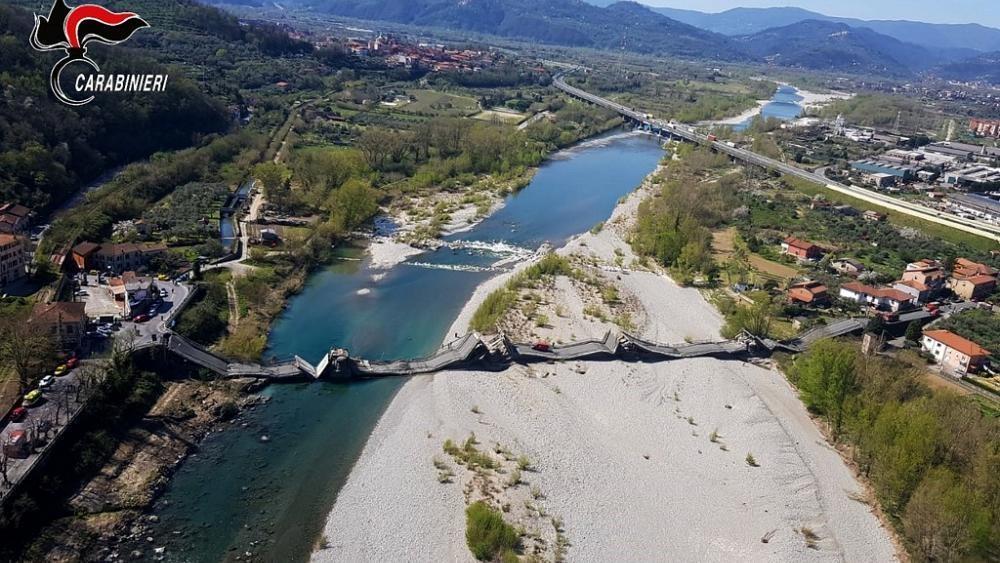 En Italie, nouvel effondrement d'un viaduc : un blessé