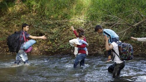 سلوفينيا معبر جديد للاجئين الى اوروبا الغربية