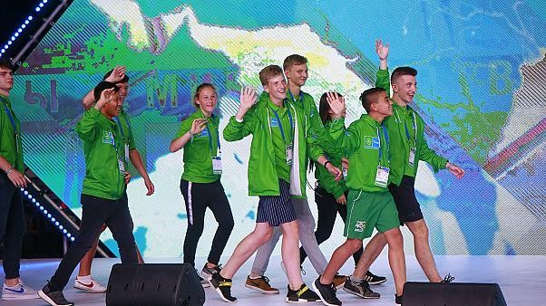 Football for friendship makes historic appearance at the International Children's Games