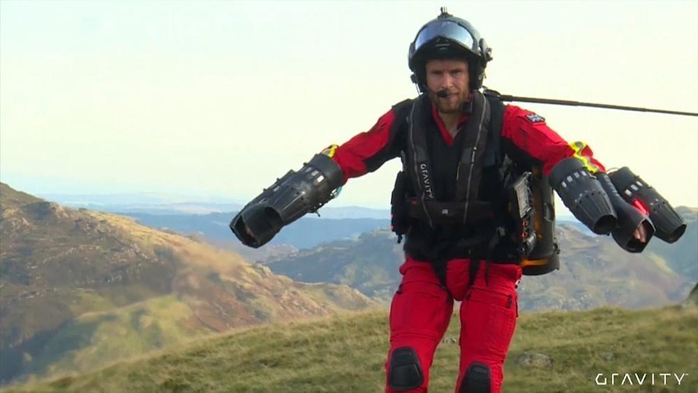 Летающий костюм для спасателей