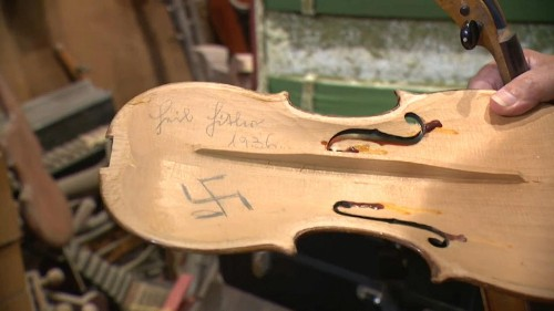 La magia dei violini della Shoah