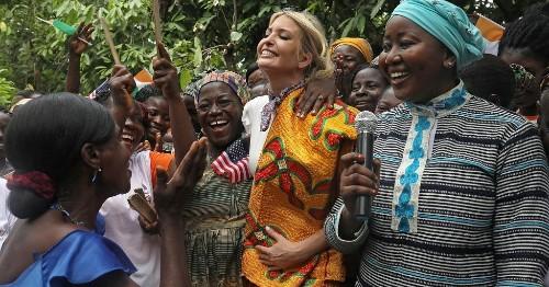 Retour en 10 images sur la visite d'Ivanka Trump en Afrique