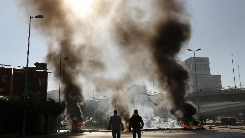 Regierungskrise im Libanon: Mehr als 200 Verletzte bei Protesten