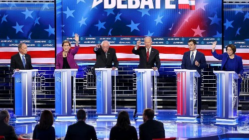 Full transcript: Ninth Democratic debate in Las Vegas