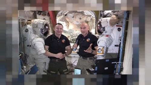Une sortie extra-véhiculaire des plus complexes pour l'équipage de l'ISS