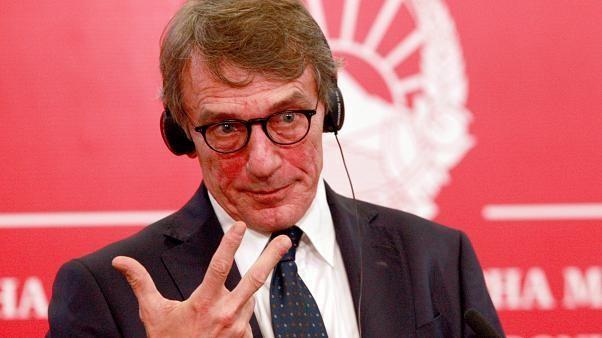 Watch live: EU parliament chief David Sassoli set to announce new commissioners