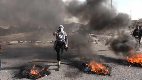 En Irak, les manifestations se poursuivent sur l'autoroute