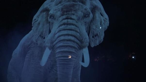 Watch: Germany plays host to world's first hologram circus