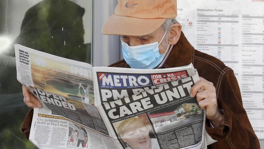 L'hospitalisation de Boris Johnson provoque un choc au Royaume-Uni