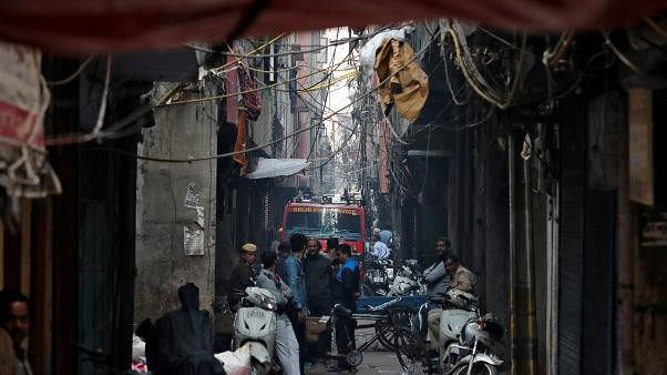 Fire in India's capital New Delhi kills at least 43