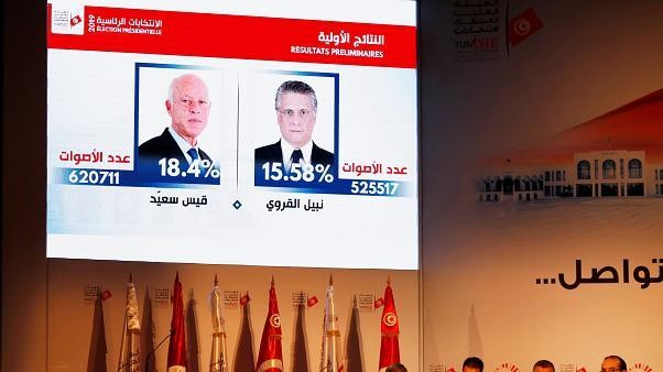 Außenseiter Kais Saïed und Nabil Karoui gehen in Stichwahl um Präsidentenamt