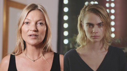 Cara Delevingne and Kate Moss in star-studded campaign to save ocean