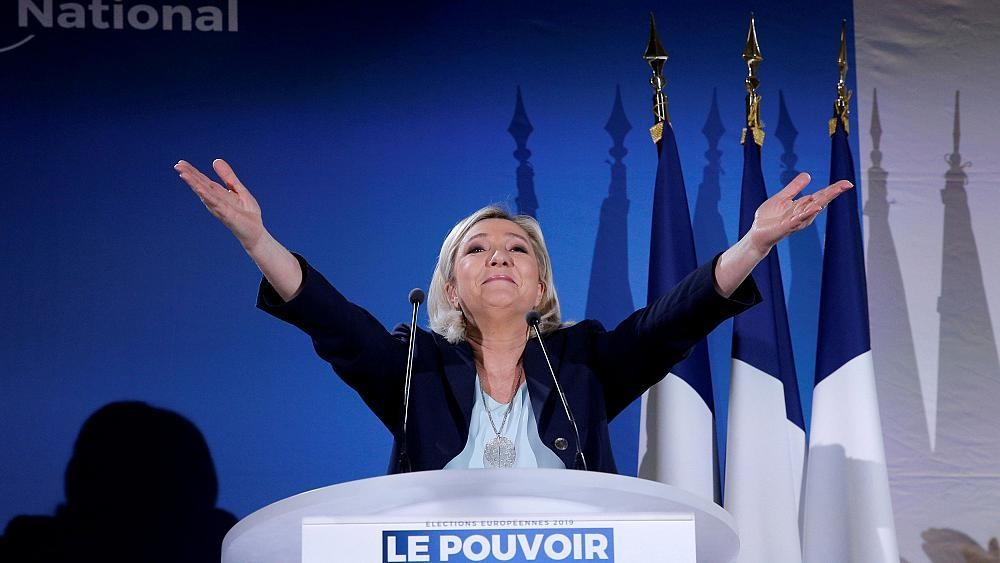'To save Europe, you have to turn away from EU,' says Marine Le Pen