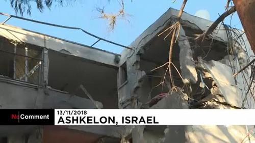 Izraeli támadások a Hamasz bázisa ellen