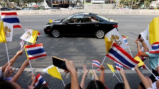 Thailandia e Giappone, le tappe del viaggio asiatico di Papa Francesco