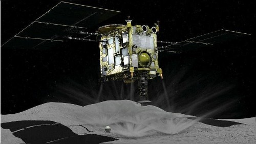Japan successfully lands spacecraft on asteroid
