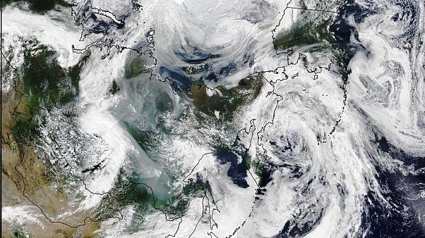 Waldbrände in Sibirien: Rauchschwaden sind größer als die EU