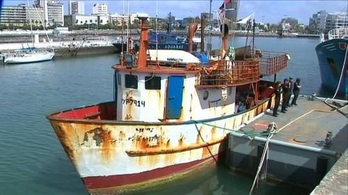 Tonnenschwere Kokainschiffe beschlagnahmt