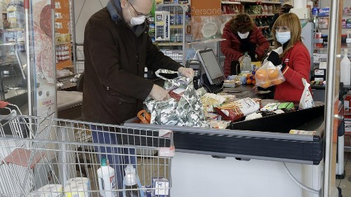 Einkauf in Zeiten des Coronavirus: Im Supermarkt von Casalpusterlengo