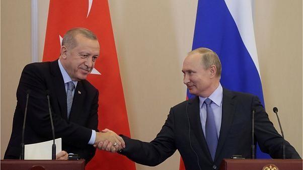 توافق «تاریخی» در دیدار اردوغان و پوتین برای حل بحران شمال سوریه