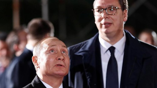 Serbia smiles eastward as Putin visit builds ties