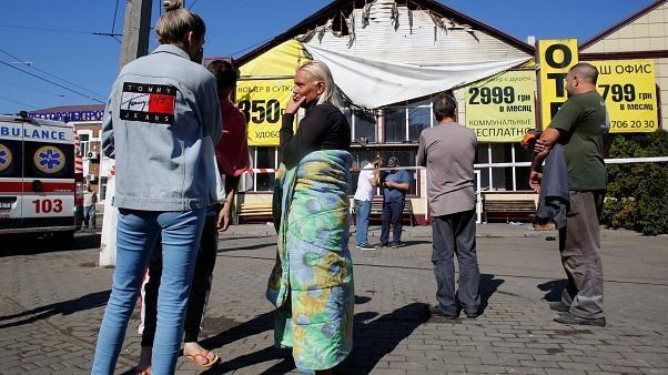 Ukraine hotel fire: Death toll rises to nine after blaze at Tokyo Star in Odessa